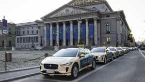 Taxi électrique : la Jaguar i-Pace séduit la ville de Munich