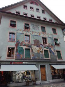 Façade peinte - Lucerne