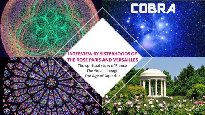 Кобра - Интервью Сестричества Розы Парижа и Версаля, посвященное Франции, ее оккультной истории и сильной связи с энергией Богини, а также текущему положению дел Visuel-VF-interview