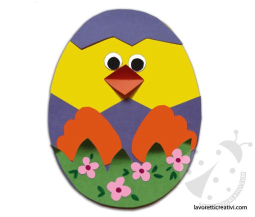 uovo con pulcino