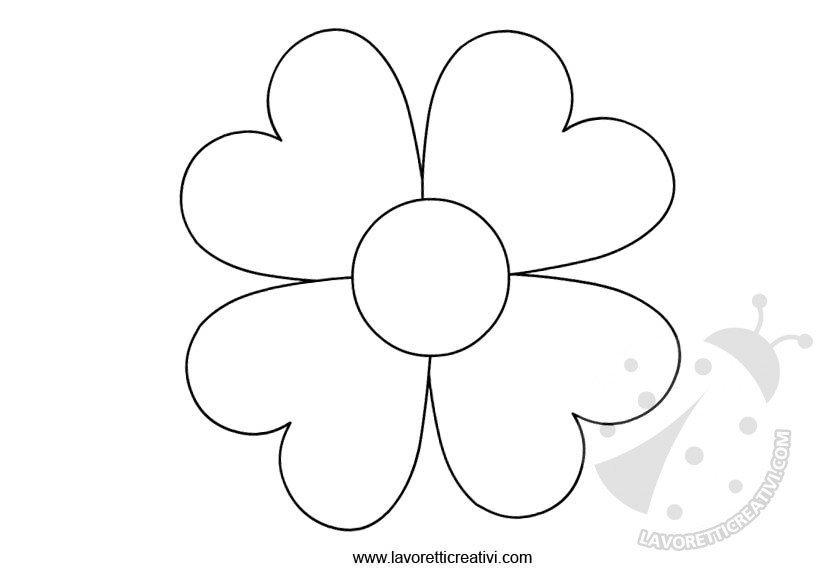 Disegni di fiori da colorare dt54 pineglen for Primule da colorare