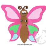 Lavoretti con la carta – Farfalla