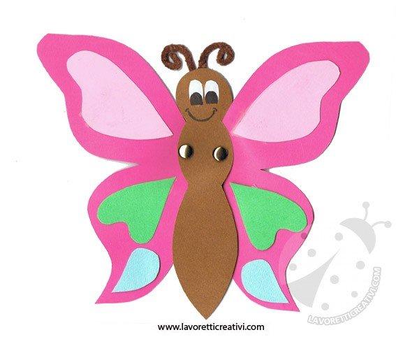 Lavoretti con la carta farfalla - Immagini di farfalle a colori ...