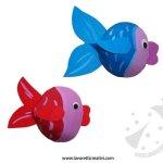 Lavoretti per l'estate – Pesci con le conchiglie