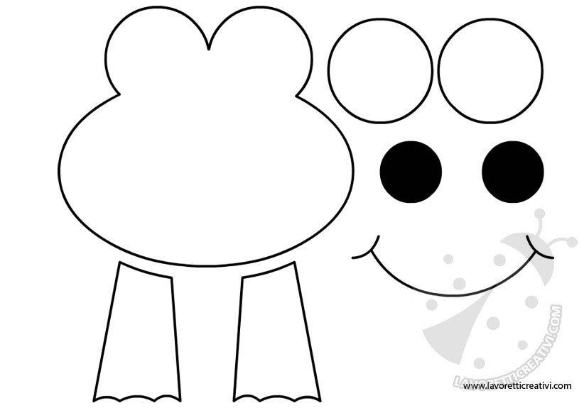 Disegni Rane Colorate: Disegnare Una Rana Per Bambini EA82 » Regardsdefemmes
