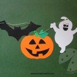 Festone di Halloween fai da te