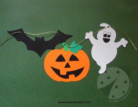 Festone di halloween fai da te for Halloween decorazioni fai da te