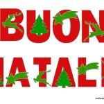 Buon Natale: festone da stampare