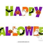 Festone Happy Halloween da stampare