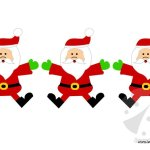 Festone con Babbo Natale