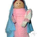 Lavoretto Presepe – Maria e Gesù Bambino