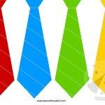 Festa del papà – Festone con cravatte