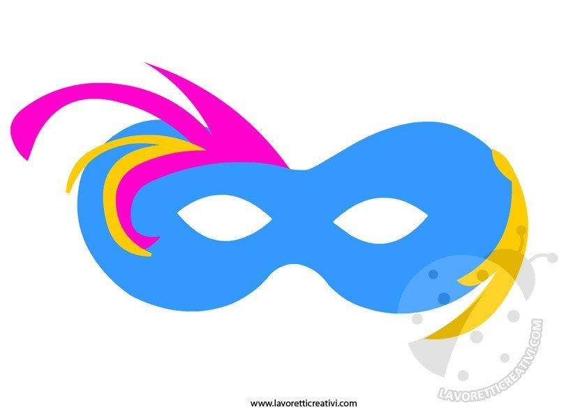 Mesi dell 39 anno da colorare gennaio for Mascherina carnevale da colorare