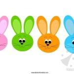 Addobbi Pasqua – Festone con i conigli