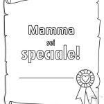 Pergamena con scritta Mamma sei speciale!
