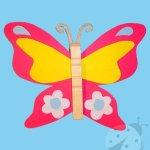 Lavoretti fai da te con la carta – Farfalla