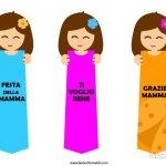 Segnalibri per la Festa della Mamma