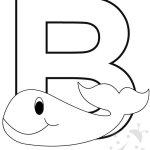 Alfabeto con disegni – Lettera B