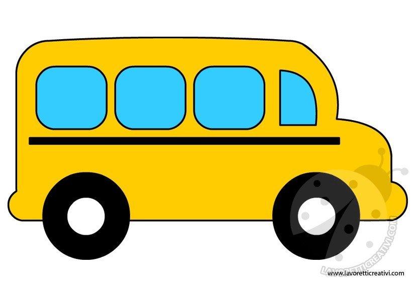 Sagoma scuolabus for Siti maestre scuola infanzia