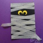 Lavoretti di Halloween – Mummia