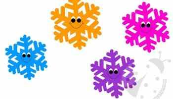 Fiocchi Di Neve Disegni Da Stampare E Ritagliare