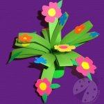 Lavoretto per la Festa della Mamma – Bouquet di fiori