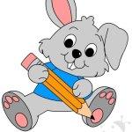 Addobbi scuola infanzia – Coniglio