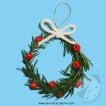 Addobbi albero natale – Ghirlanda con il rosmarino