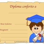 Diplomi di fine anno scuola primaria