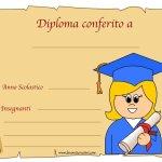 Diplomi di fine anno scuola primaria 2