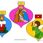 Addobbi natalizi aula scuola – Palline di carta