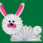 Addobbi di Pasqua – Coniglio a fisarmonica
