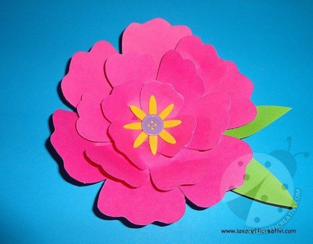 Come fare fiori di carta semplici