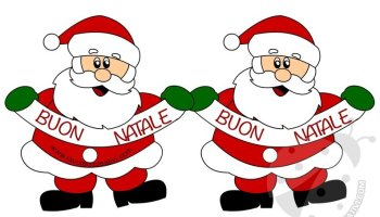 Buon Natale Da Stampare.Buon Natale Festone Da Stampare Lavoretti Creativi