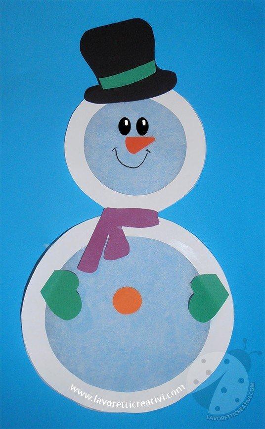 Decorazioni invernali per bambini