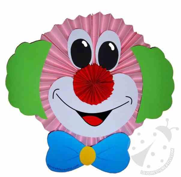 Tutorial Pagliacci a fisarmonica per addobbi Carnevale