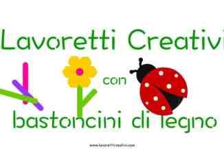 Lavoretti creativi primavera for Lavoretti con abbassalingua