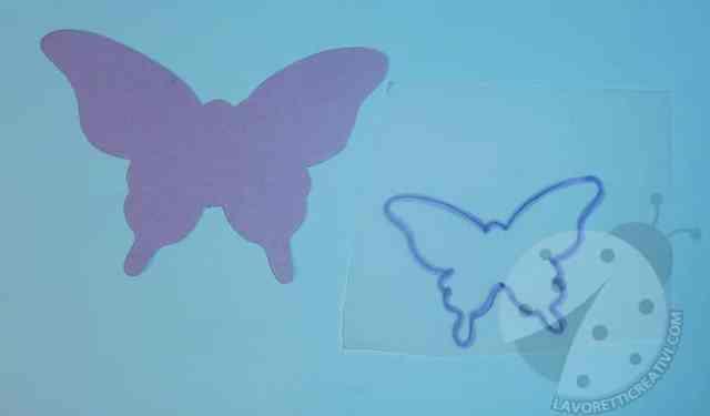 Come realizzare farfalle 3D di carta