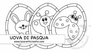 Disegni Di Pasqua Da Stampare E Colorare Lavoretti Creativi