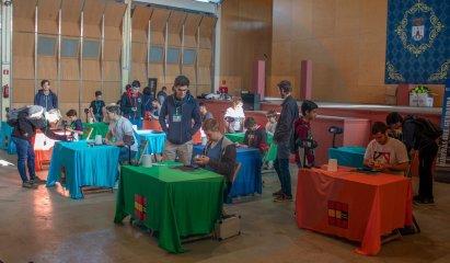 Gran Open de Cubo de Rubik celebrado en el Auditorio Riberas del Guadaíra / David Benítez