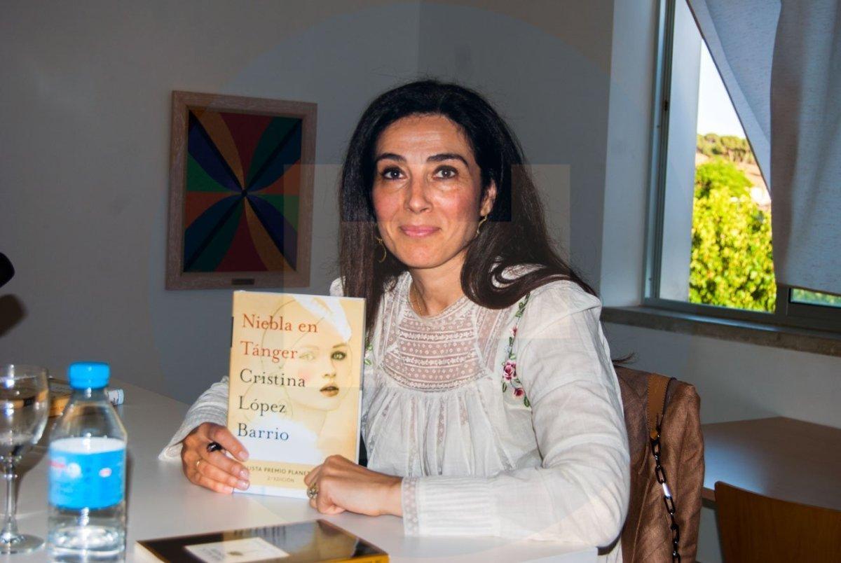Escritora Cristina López Barrio
