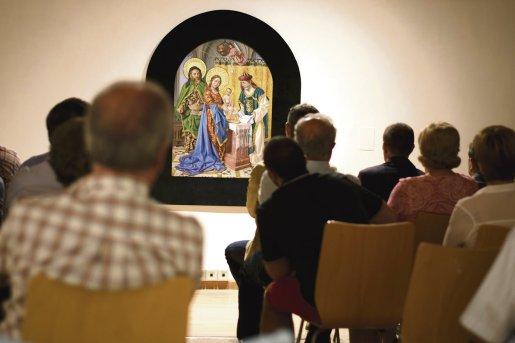 'La presentación de Jesús en el templo', de Alcarazo / Alba González
