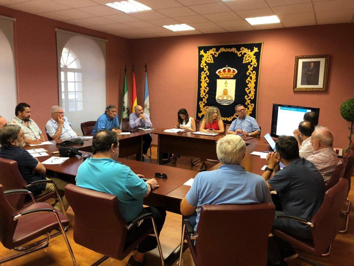 Junta de gobierno del Ayuntamiento de Alcalá /Ayto. Alcalá
