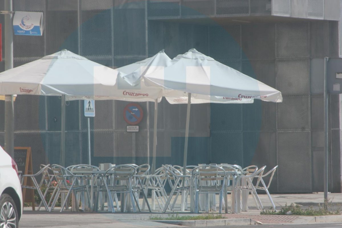 El Ayuntamiento ha descuidado la inspección de los veladores /LVA