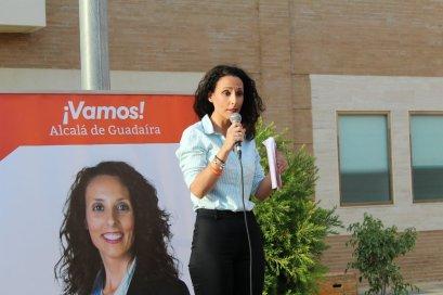 La candidata de Ciudadanos, Rosa Carro / Rocío Gómez