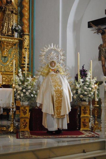 Virgen de los Ángeles. / Juan Escamilla Martín