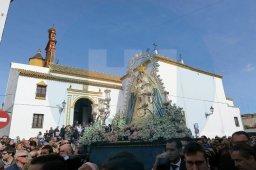 Traslado de la Virgen del Águila de vuelta / Juan Muñoz