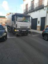 Desinfección de las calles de Alcalá / Ayto.