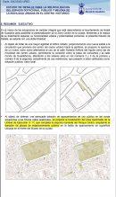 """Plano del documento donde aparece el área objeto de """"relocalización"""""""