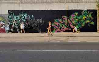 Grafiti en la Avenida Tren de los Panaderos / José Antonio García Cordero